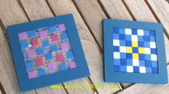 Craft design gift for Mothering Sunday: coasters