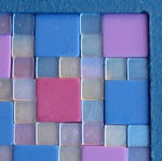 Mosaic tiles for Mothering Sunday