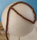 Fix the seed beads with a thread