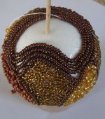 fill with a seed bead thread