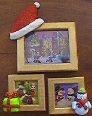 Little Christmas frame