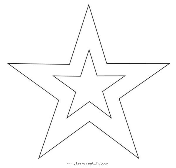 double 5-pointed star