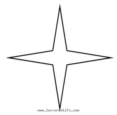 4-point star stencil