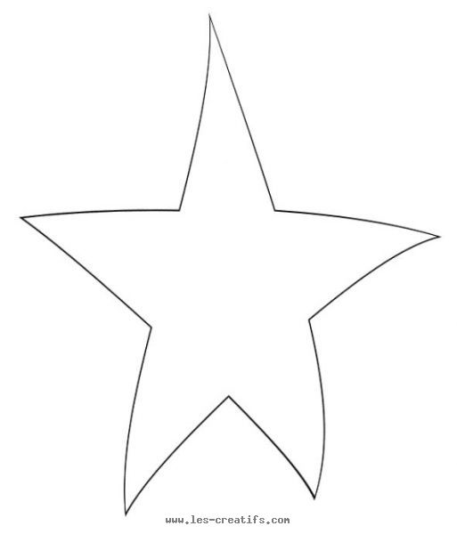 star with curved points