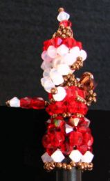 Father Christmas crystal bead kit