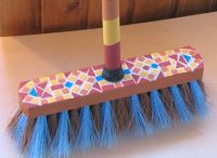 customized broom
