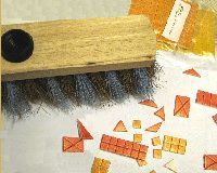 Materials for customizing a broom