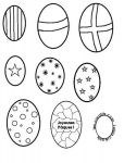 Easter templates and stencils