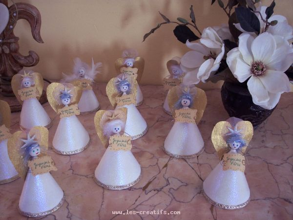 Angels - Decorations de noel a faire ...