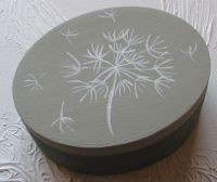 Dandelion design jewelry box