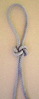 Photograph of 'Slip knots' decorative knot