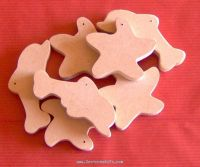 MDF adhesive shapes
