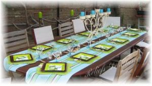 Table mats for special summer-time meals