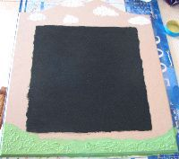 making the magnetic board