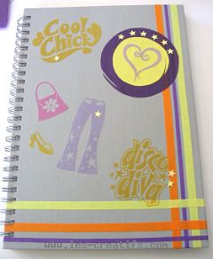 how to customize an exercise book