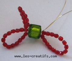 Bead bow design