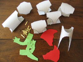 kids craft : dragon design details