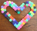 Hama beads craft design