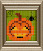 cross stitch pumpkin