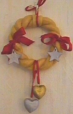 Wreath decorations for Christmas