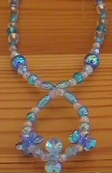 kids seed bead necklace