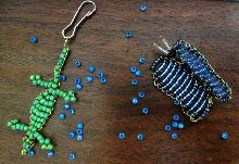 Seed bead animals
